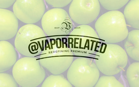 #GreenApple - @VaporRelated - Ejuice - Cheap Ejuice - low price ejuice - cheap premium ejuice