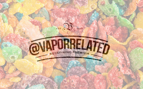 #FRUITROCKS - @VaporRelated - Ejuice - Cheap Ejuice - low price ejuice - cheap premium ejuice