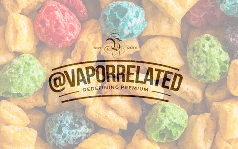 #CAPTKRUNCH - @VaporRelated - Ejuice - Cheap Ejuice - low price ejuice - cheap premium ejuice