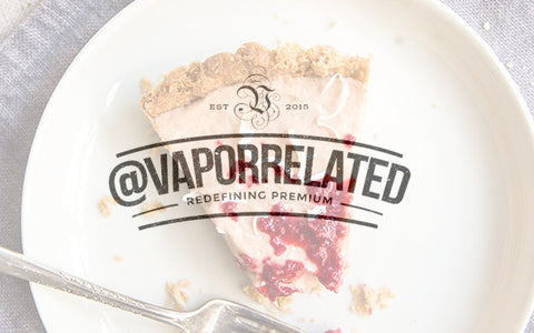 #RaspberryCustard - @VaporRelated - Ejuice - Cheap Ejuice - low price ejuice - cheap premium ejuice