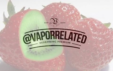 #Strawberrykiwi - @VaporRelated - Ejuice - Cheap Ejuice - low price ejuice - cheap premium ejuice