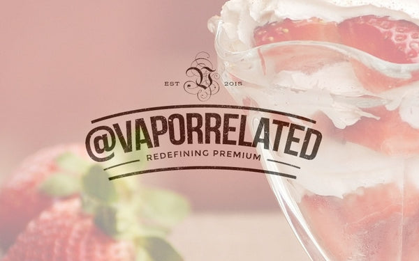 #StrawberryMilkshake - @VaporRelated - Ejuice - Cheap Ejuice - low price ejuice - cheap premium ejuice