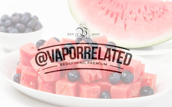 #Bluemelon - @VaporRelated - Ejuice - Cheap Ejuice - low price ejuice - cheap premium ejuice