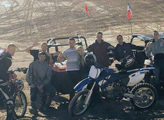 Jensen Brothers and Crew at Dunes