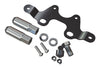 JK License Plate Mount Kit for HD Hinged Tire Carrier (4838162) | TeraFlex