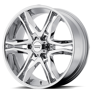 17x8 American Racing Custom Wheels MAINLINE 6x139.70 25 AR89378068225