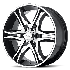 17x8 American Racing Custom Wheels MAINLINE 6x139.70 25 AR89378068325