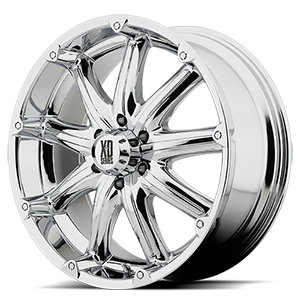18x9 XD Series by KMC BADLANDS  6x139.70 -12 XD77989068212NA