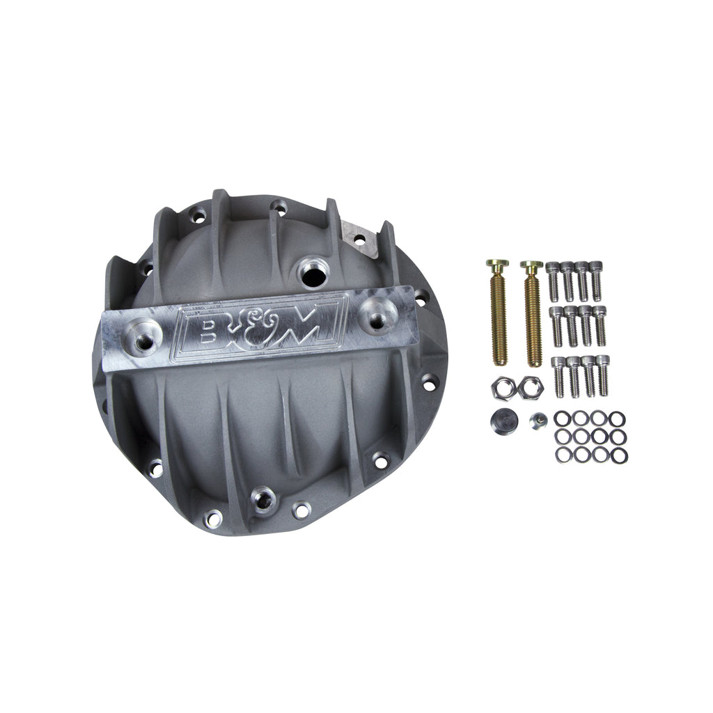 "Cast Aluminum Differential Cover for GM 8.875"" 12 Bolt Truck, Extra Capacity (70504) 