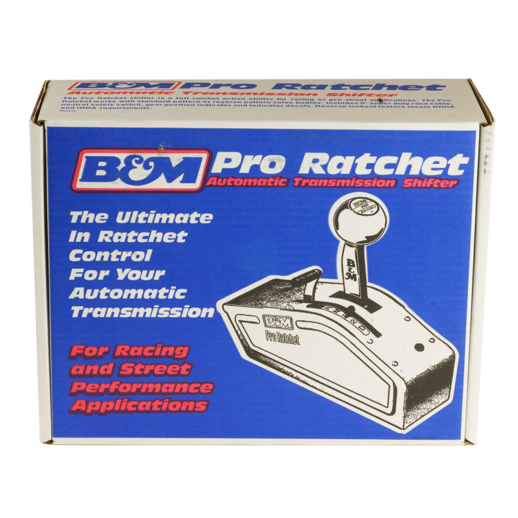 Automatic Shifter - Stealth Pro Ratchet - Universal (81120) | B&M