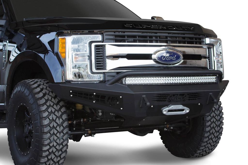 HoneyBadger Front Bumper (F167382840103) | Addictive Desert Designs