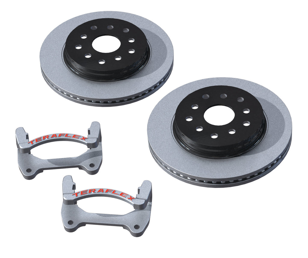 JK Front Performance Big Rotor Kit (4303480) | TeraFlex
