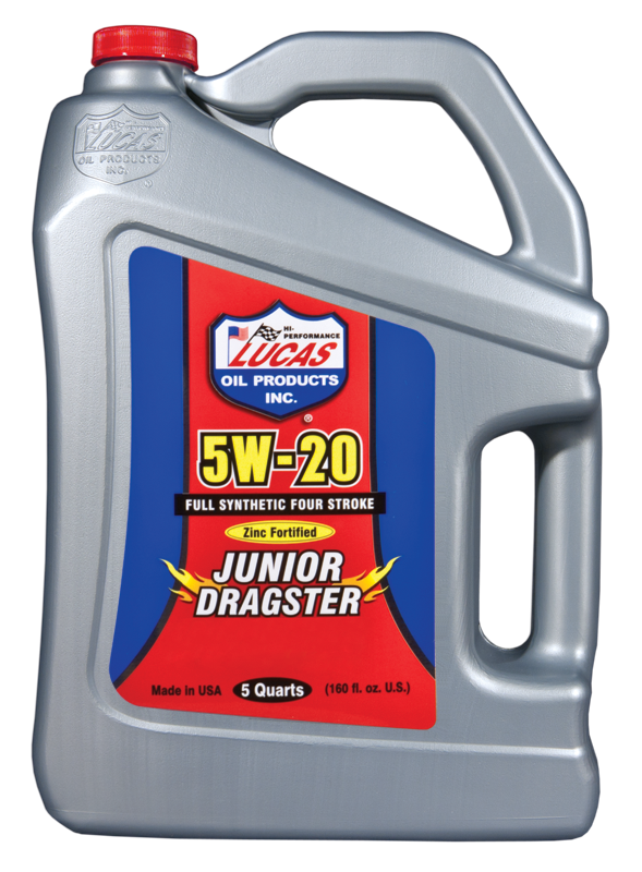 SAE 5W-20 Jr Dragster Racing Oil (10471) | Lucas Oil Products