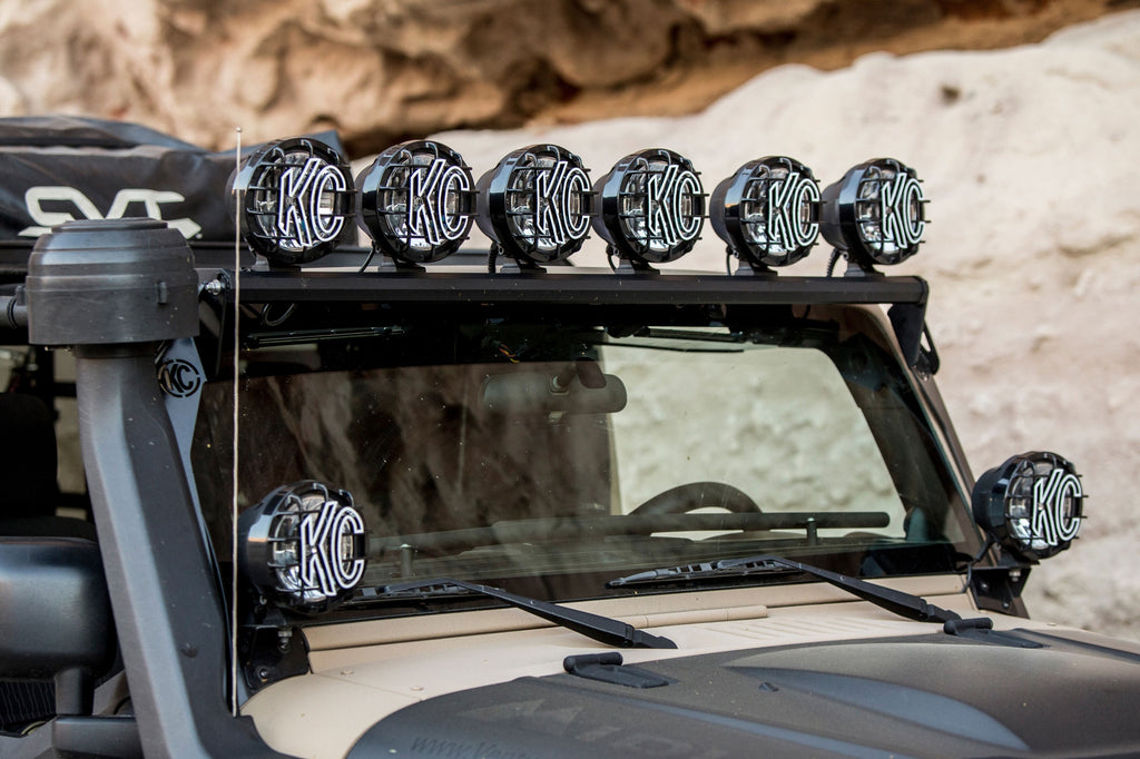 "KC 50"" Overhead Xross Bar Gravity LED Pro-Sport 6-Light Kit - #97052 (97052) 