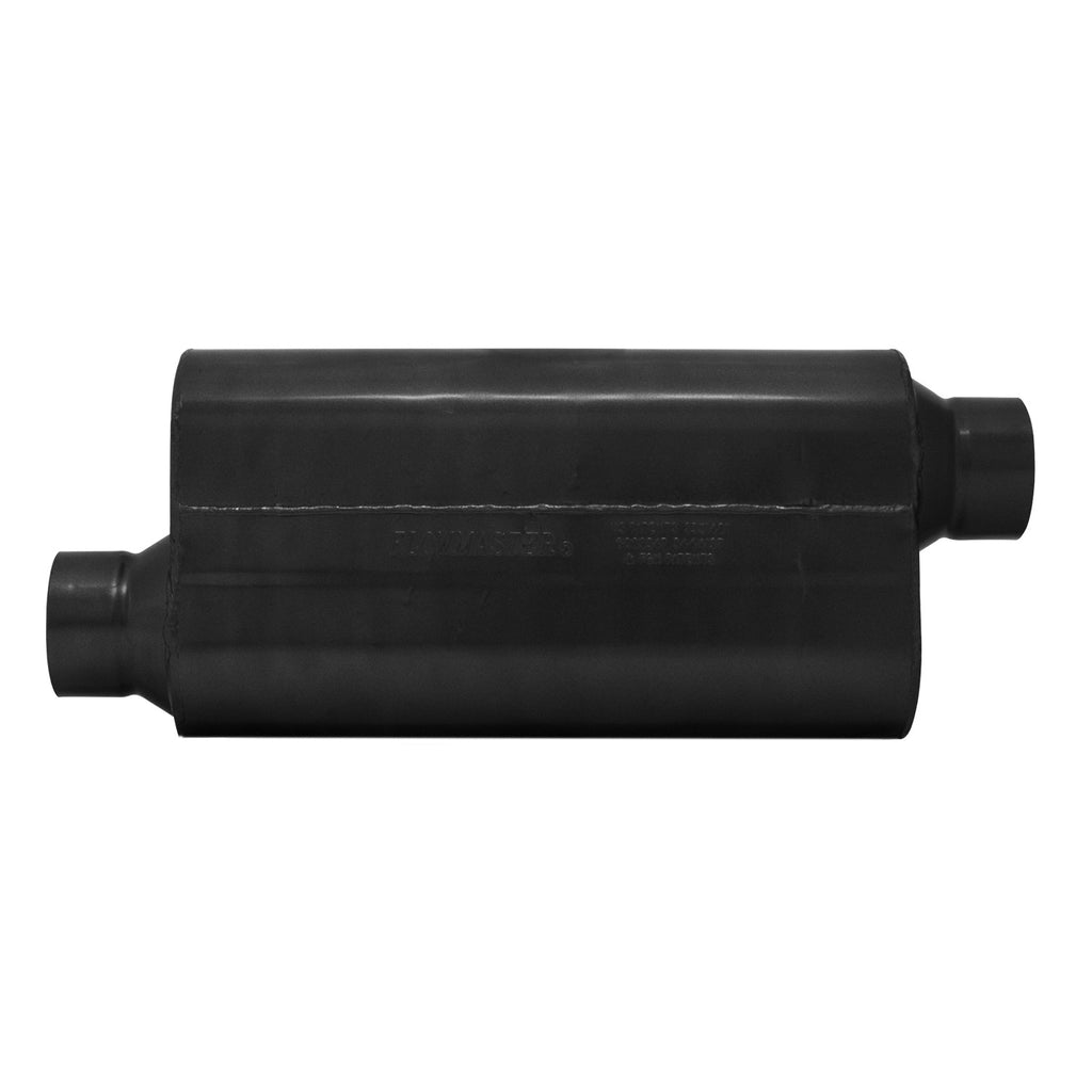 Universal 50 Series HD Muffler - 3.5 in. Offset In/3.50 in. Offset Out - Moderate Sound (853558) | Flowmaster