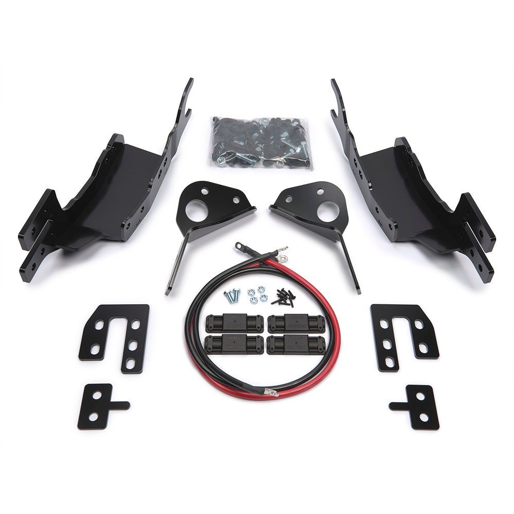 GEN II Trans4mer Mid-Frame Mounts 88240/ 88245 Large Frame Mounts 90110/ 90115 (98400) | Warn