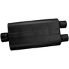 Universal 50 Delta Flow Muffler - 3.00 Center In / 2.50 Dual Out - Moderate Sound (9430502) | Flowmaster