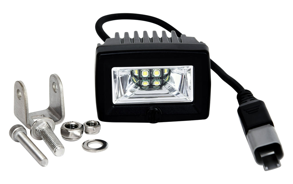 KC's C2 Backup light uses an ultra wide 120 Scene Beam Pattern to provide powerful peripheral illumination around your vehicle, improving night time visibility when reversing. (1519) | KC HiLiTES