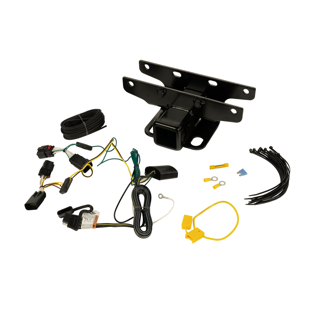 Trailer Hitch Kit, Wiring Harness; 18-19 Jeep Wrangler JL (11580.57) | Rugged Ridge