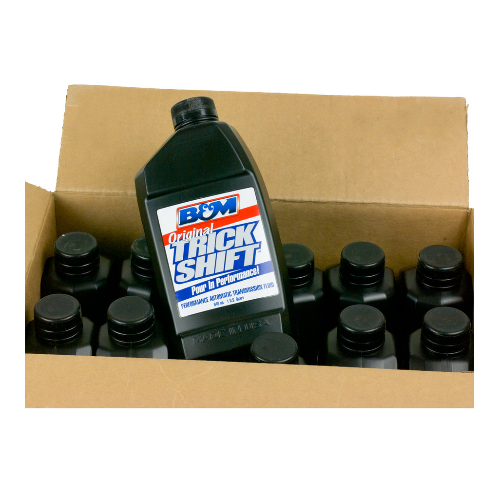 Automatic Transmission Trick Shift Fluid, (1 Quart. Btl) (80259) | B&M