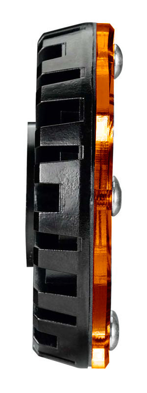 "KC Hilites 1352 5W Cyclone Amber LED is a multi-functional, compact auxiliary LED lighting solution. Universal mount, sleek 2.2"" diameter design for a wide range of lighting applications: rock crawling to engine bays, wheel wheels & more. (1352) 