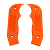 Shifter Accessory, Orange Magnum Grip Side Plates for All Magnum Shifters (81203) | B&M