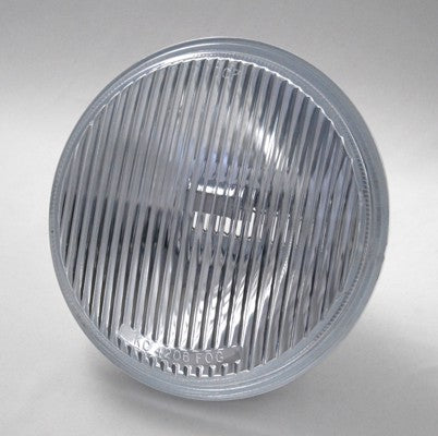 "The KC 4206 6"" Fog Beam lens/reflector for KC Hilites Slimlite, Daylighter and Apollo Halogen lights. Comes with clear glass lens and H3 Bulb Adapter. Fog Beam pattern for improved visibility under rain, fog, snow and dusty conditions. (4206) 