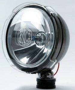 "The KC 7207 6"" LiteShield Clear Acrylic Cover fits all KC Hilites 6"" Slimlite, Daylighter and Pro-Sport Series lights. Super Tough Polycarbonate with simple Snap-On installation, for complete lens protection from debris. Sold in Pairs. (7207) 