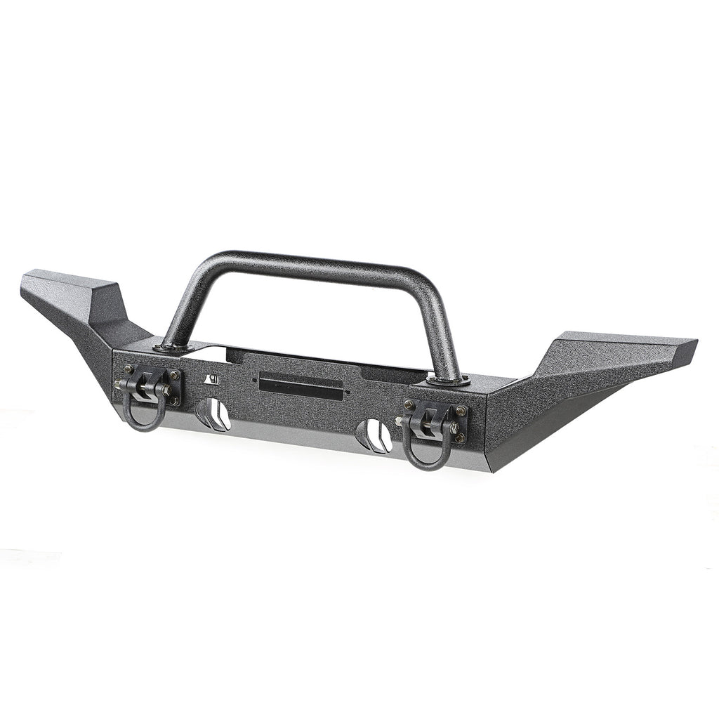 XHD Bumper Kit, Front, Over Rider/High Clearance; 07-18 Jeep Wrangler (11540.52) | Rugged Ridge