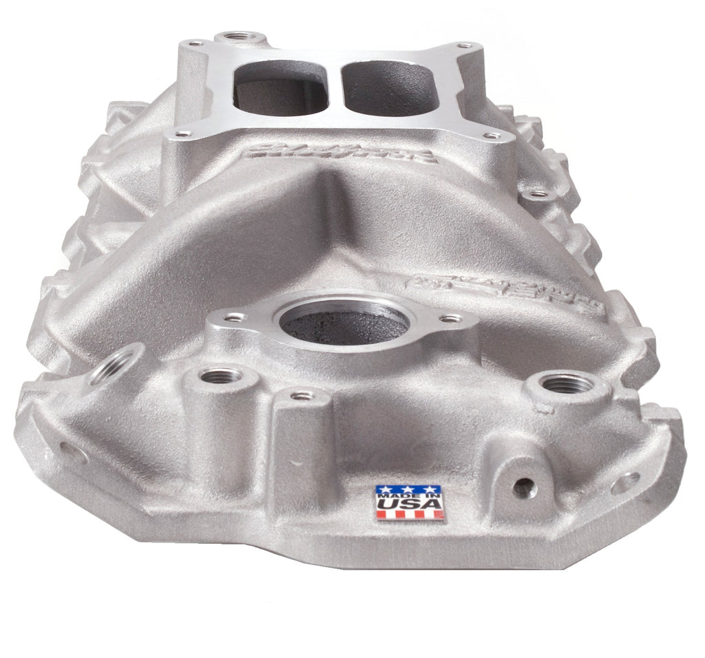 Performer EPS Intake Manifold for 1955-86 Small-Block Chevy (2701) | Edelbrock