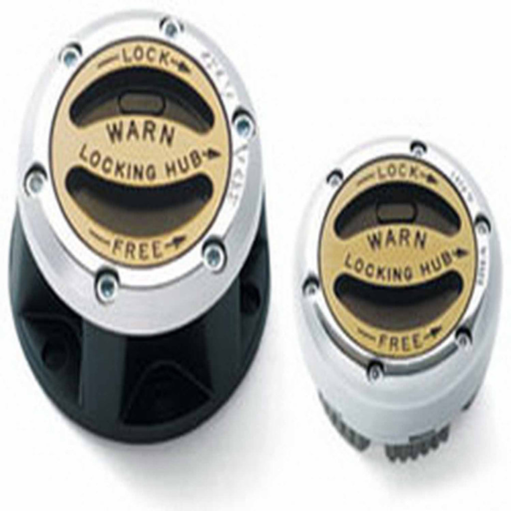 Manual; 10 Spline; External Mount; Set Of 2 (29062) | Warn