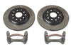 JK Front Performance Big Slotted Rotor Kit (4303490) | TeraFlex