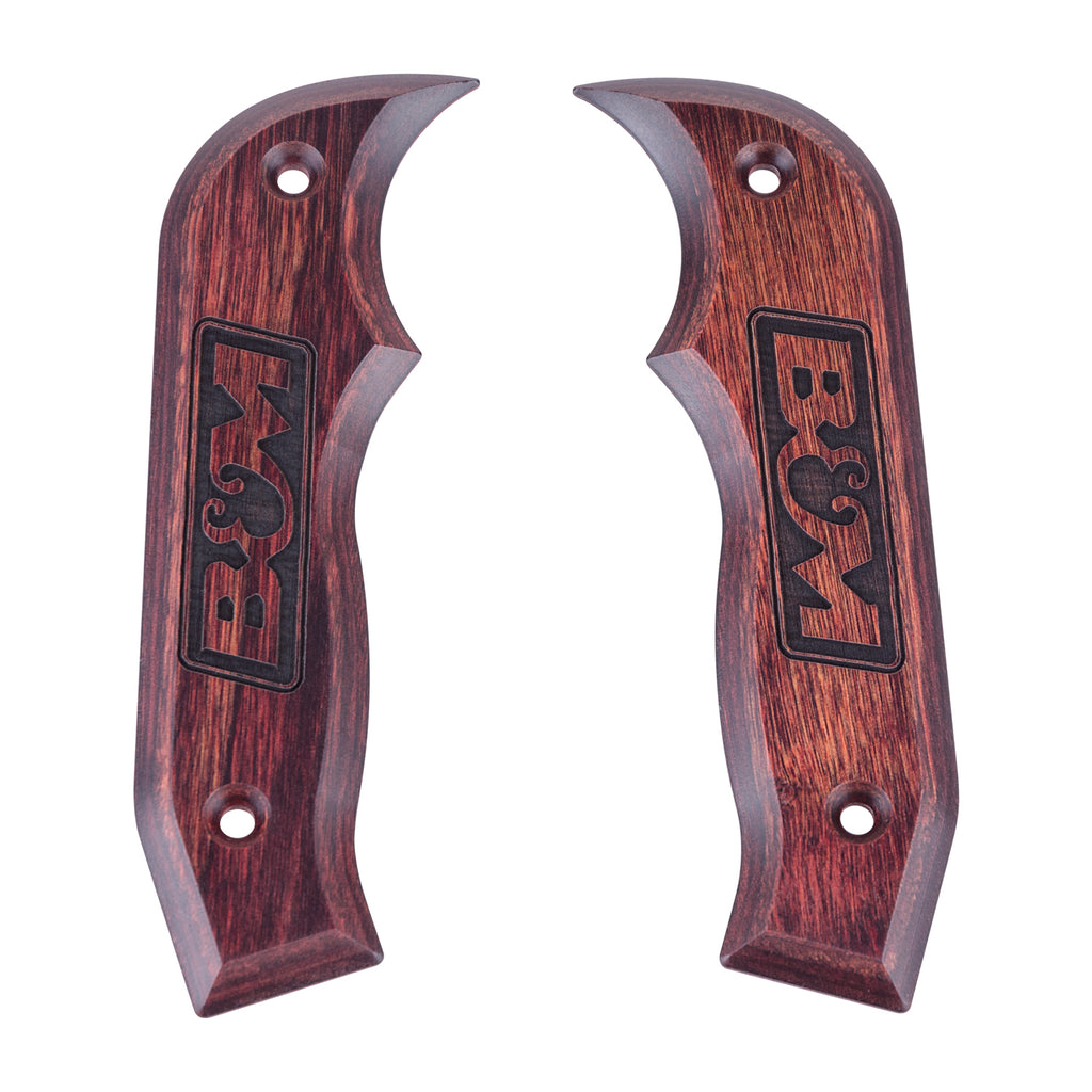Shifter Accessory, Rosewood Magnum Grip Side Plates (81086) | B&M