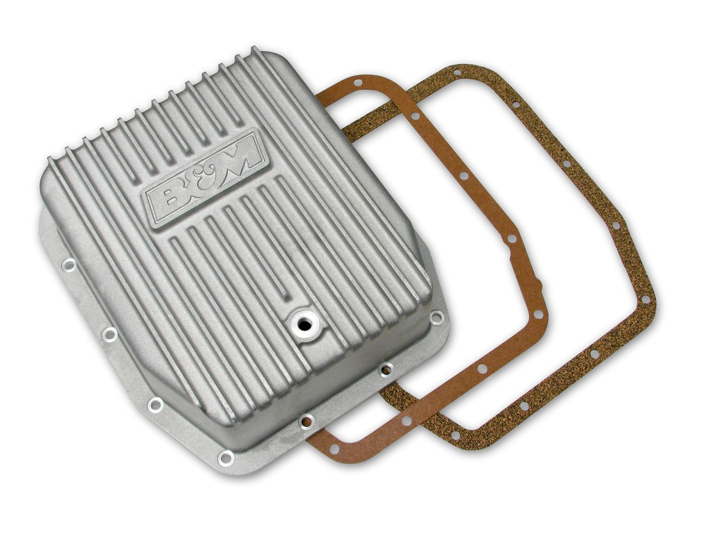 Cast Deep Transmission Pan for AODE and 4R70W Transmission (40291) | B&M