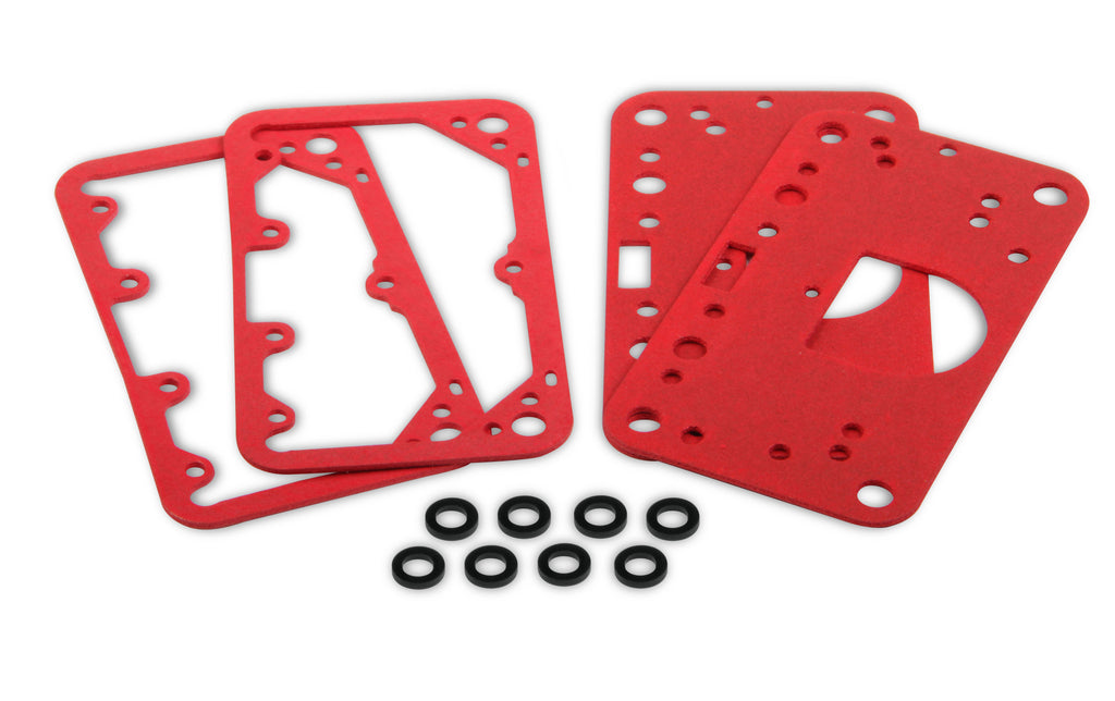 2 fuel bowl gaskets, 2 metering block gaskets, and 8 fuel bowl screw gaskets (190080) | Demon Fuel Systems