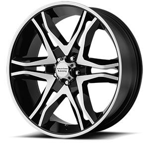 20x8.5 American Racing Custom Wheels MAINLINE 5x114.30 35 AR89328512335