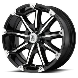 18x9 XD Series by KMC BADLANDS  6x139.70 -12 XD77989068312N
