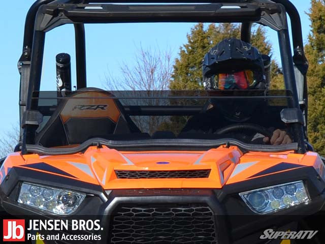 Polaris RZR 900 / 1000 Half Windshield 1