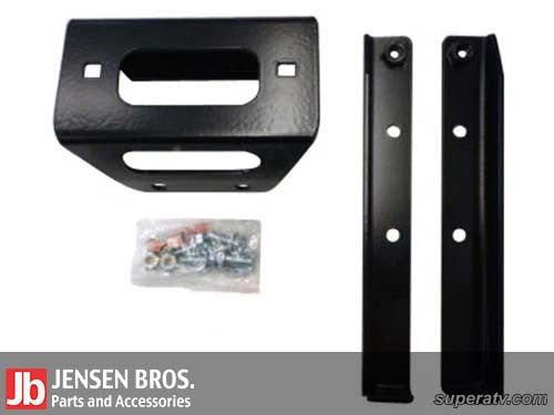 Polaris RZR Winch Mounting Plate For 4500 lb. Winches