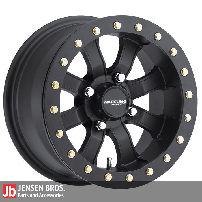 Raceline wheels jensen bros off-road black mamba beadlock