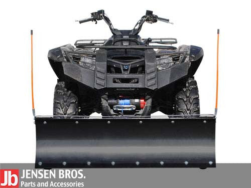 Yamaha Grizzly 660/700 Plow Pro Heavy Duty Snow Plow Mounted 3