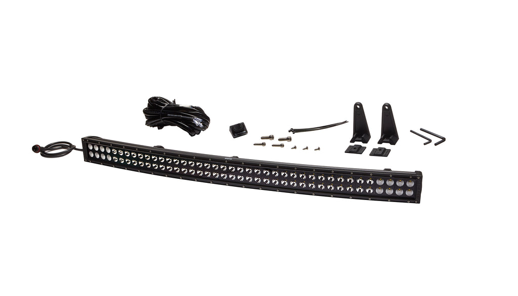 "40"" C Series CR40 Curved LED Light Bar Combo Beam - KC #93371 (Spot/Spread Beam) (93371) 