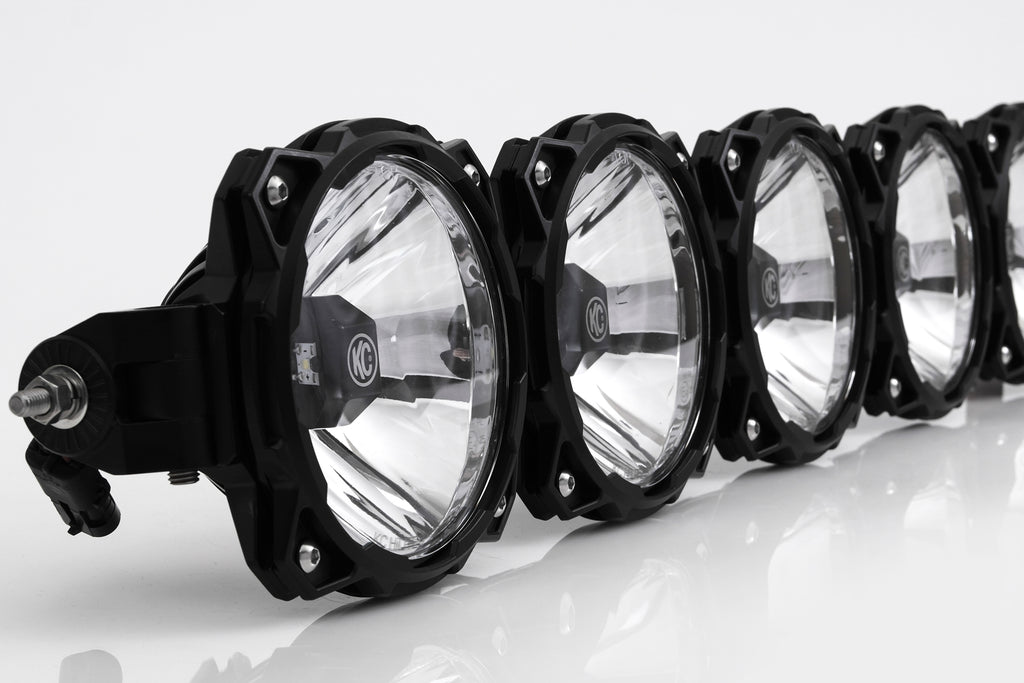 Gravity LED Pro6 07-18 Jeep JK 8-Light Combo Beam LED Light Bar - #91313 (91313) | KC HiLiTES