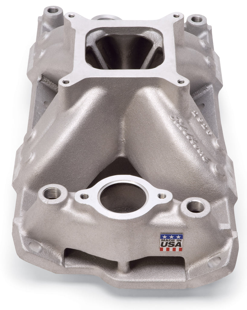Super Victor 23 Degree Intake Manifold Small-Block Chevy (2925) | Edelbrock