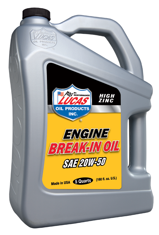 SAE 20W-50 Break-in Oil (10636) | Lucas Oil Products