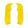 Shifter Accessory, Yellow Magnum Grip Side Plates for All Magnum Shifters (81206) | B&M