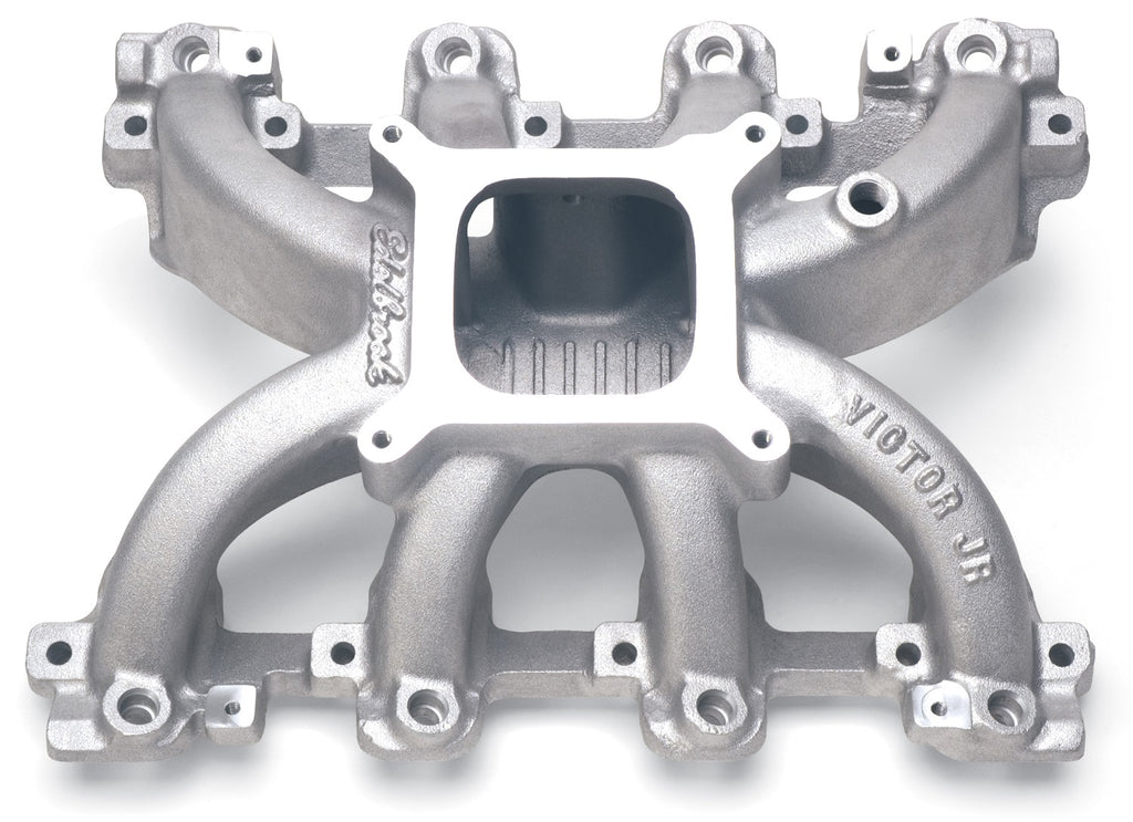 Victor Jr. Small Block Chevy LS1 EFI Intake Manifold Only (29085) | Edelbrock
