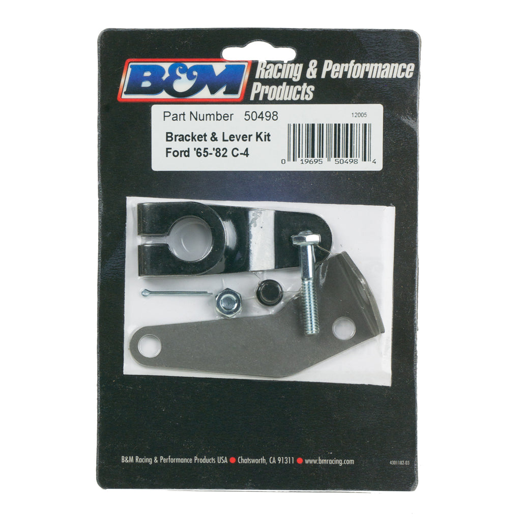 Bracket and Lever Kit for C4 Automatic Transmissions. (50498) | B&M