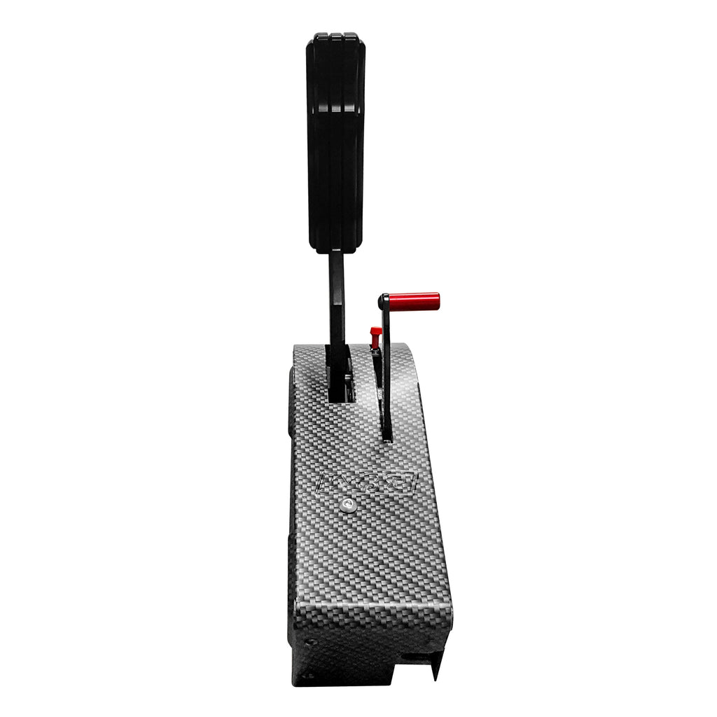Automatic Shifter, Stealth Pro Ratchet 3 and 4 Speed, Carbon Fiber (81119) | B&M