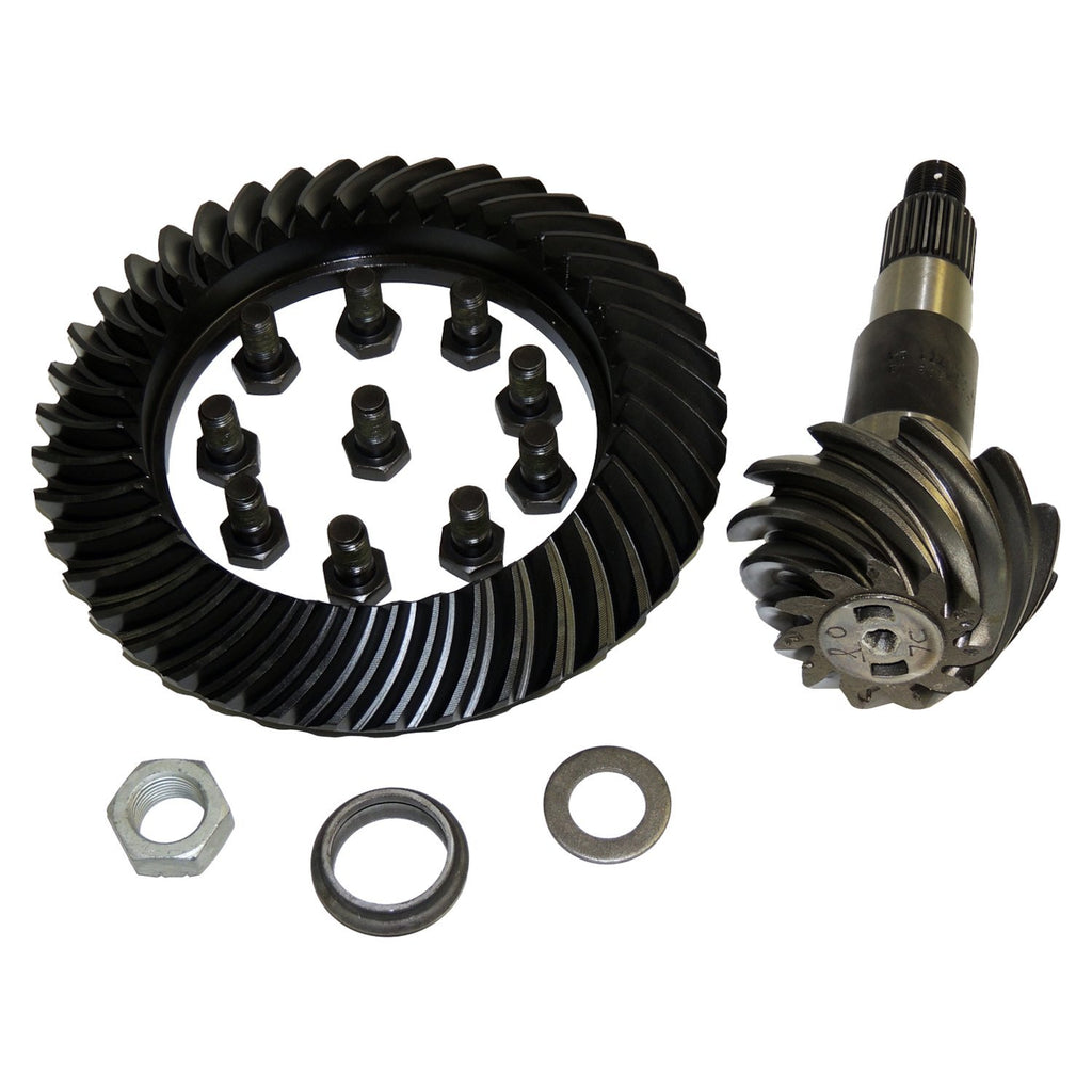 Dana 44 Rear Axle Ring & Pinion Kit for Jeep JK Wrangler; 3.73 Ratio (68038761AA) | Crown Automotive Jeep Replacement